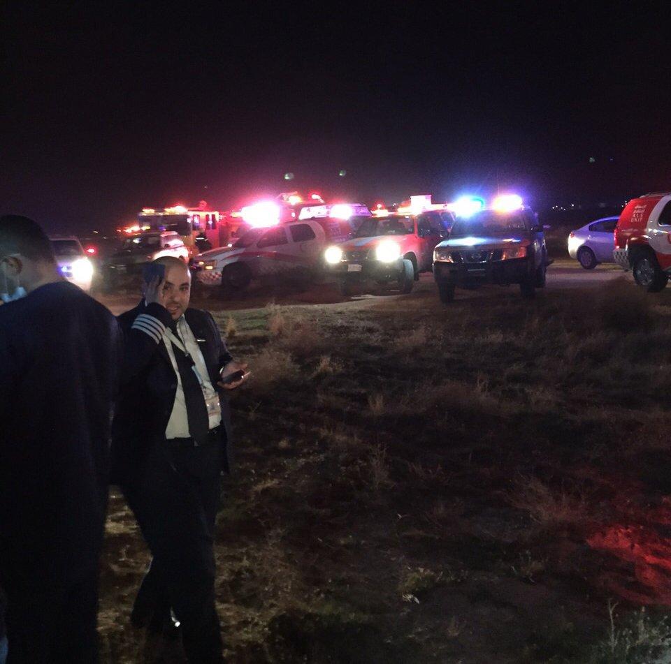 عدد قتلى ومصابين حادث سقوط طائرة صغيرة في الرياض مساء اليوم 2/1436