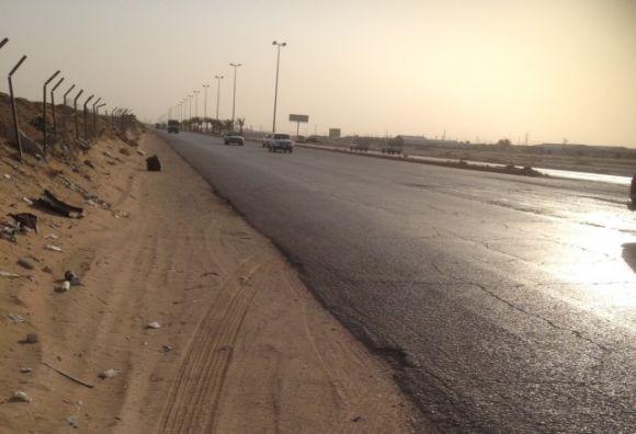 صور وتفاصيل حادث معلمات طريق الخرج- الدلم واصابة 5 معلمات