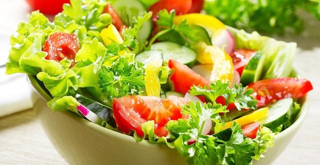 طريقة تحضير سلطة الخضروات الصحية 2016- سلطة الخضروات المشوية الصحية 2017