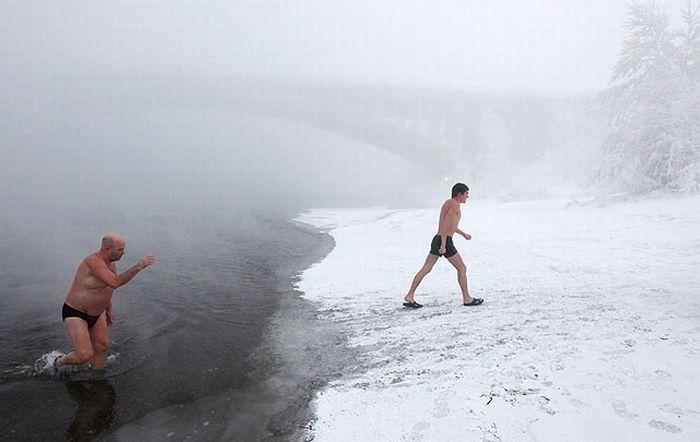 رؤيا السباحة في البحر في الشتاء , تفسير حلم السباحة في الشتاء