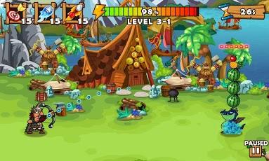 تحميل لعبة Fruit Shoot للاندرويد - العاب سامسونج جالكسي اس 3 , سامسونج جالكسي اس 2 , سامسونج ميني