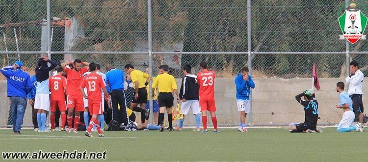 صور وفاة قصي الخوالدة 2013 , صور وفاة لاعب الفيصلي قصي الخوالدة أثناء مباراة كرة قدم 2013