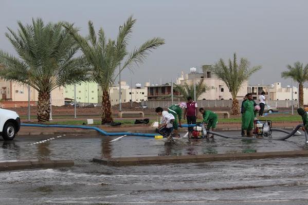 صور امطار وسيول المدينة المنورة الثلاثاء 5-2-1437