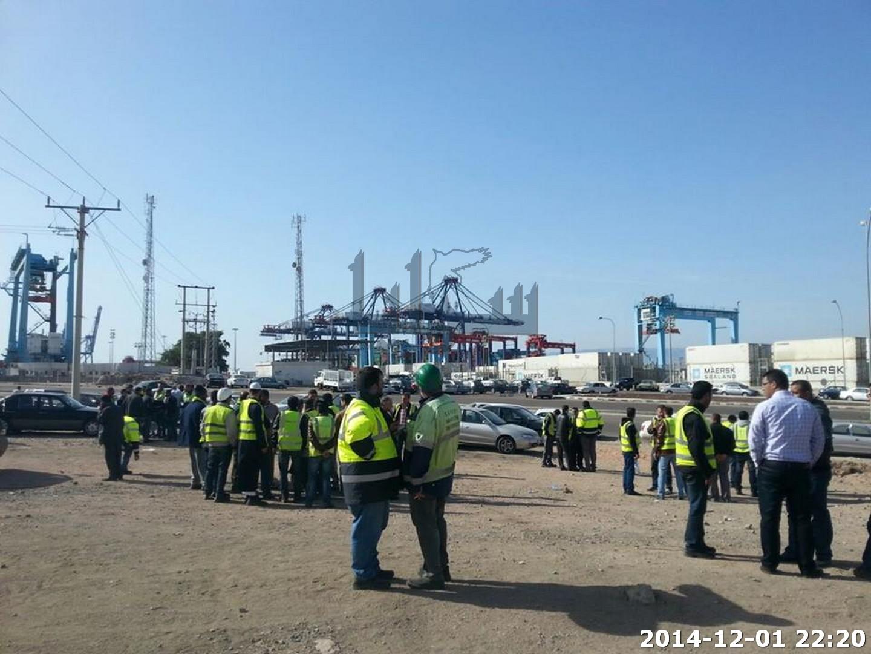ادخال موظفين من جنسيات هندية لغايات تشغيل ميناء حاويات العقبة بعد اضراب الموظفين