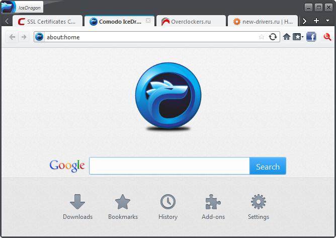 ����� ����� Comodo IceDragon 2013 , ����� Comodo IceDragon 18.0.3.1 ������� ����� �������