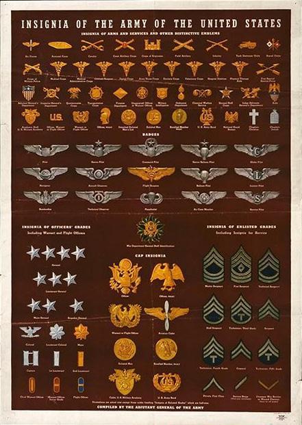 الرتب العسكرية للجيش الأمريكي