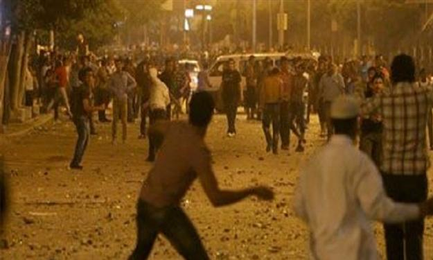 هجوم مباغت على معتصمى العباسية 1/5/2012