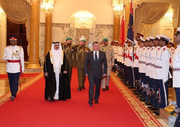 العلاقات الأردنية البحرينية بين جلالة الملك عبدالله الثاني و حمد بن عيسى آل خليفة