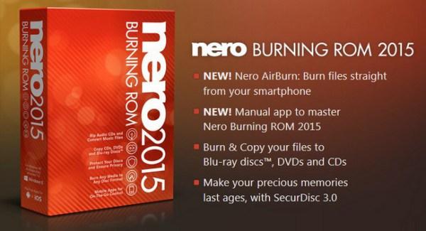 تحميل لبرنامج نيرو Nero Burning ROM 2015, 16