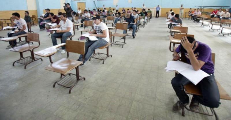 ابتداء امتحانات التوجيهي الدورة الشتوية السبت 27/12/2014