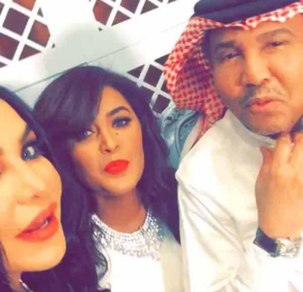 غزل محمد عبده بالفنانة أحلام يثير غيرة الفنانة السعودية وعد