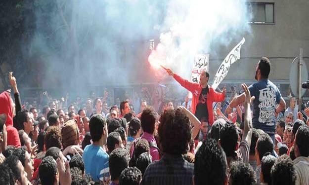 اخر اخبار ميدان التحرير اليوم 18/5/2012 , اخبار ميدان التحرير الجمعة 18/5/2012 التراس اهلاوى