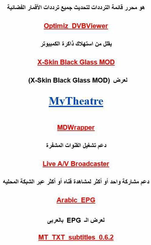 Add On's DVBPlayer لروعة الاضافات لبرامج العرض الشهيره