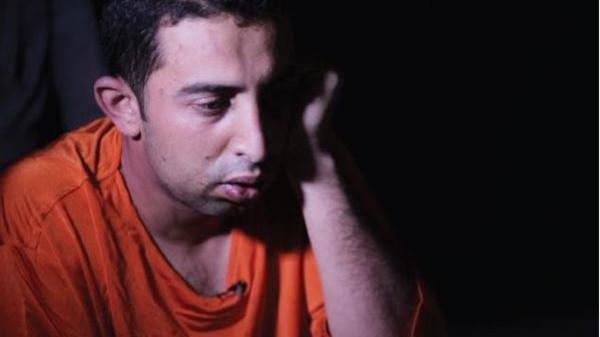 صور الطيار الاردنى معاذ الكساسبة بثياب الموت فى داعش