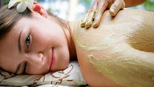 شرح تقشير البشرة على الطريقة الاسبانية , تقشير الخلايا الجلدية الميتة
