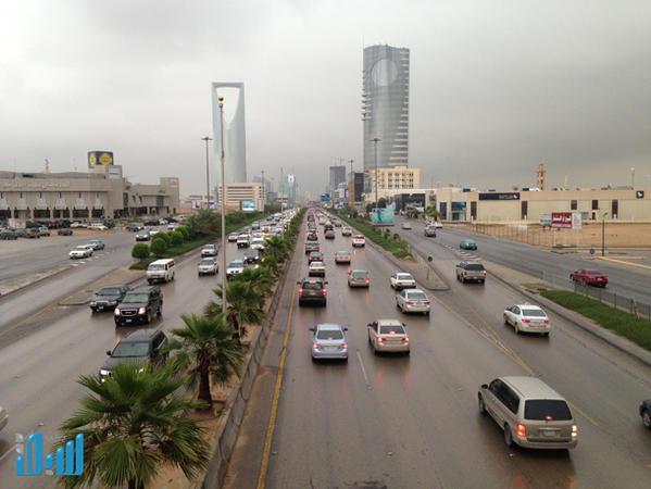 صور امطار الرياض اليوم الثلاثاء 10/2/1436