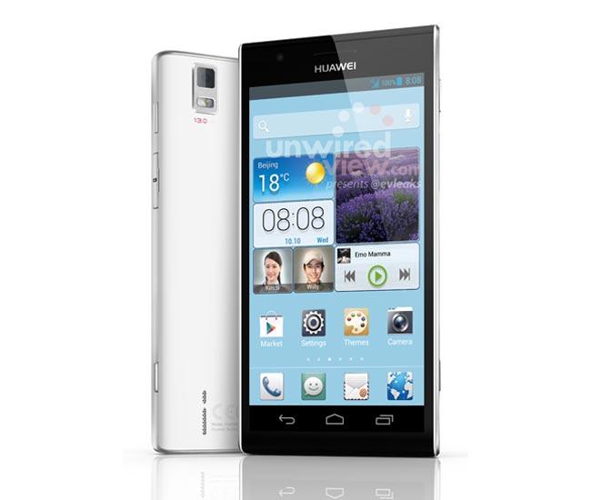 ���� � ������� ����  Ascend P2 �� ���� Huawei