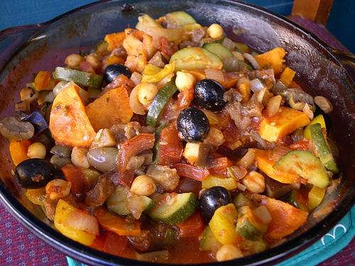 طريقة عمل حمص بالسبانخ المغربي 2016 - مقادير عمل طاجن الحمص بالسبانج المطبخ المغربي 2017