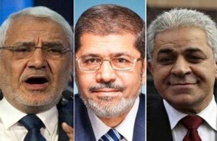 تعرف على نتائج الاجتماع بين مرسي وابوالفتوح و حمدين صباحي في اجتماعهم اليوم والذي استمر ساعتين ونصف