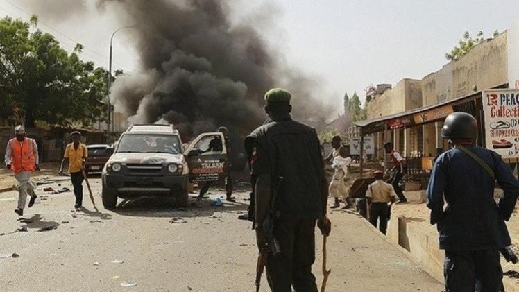 فيديو وصور تفاصيل سبب تفجير نيجيريا , قتلى وجرحى انفجار نيجيريا 32 قتيلا وعشرات الجرحى