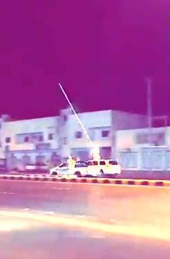 بالصور و الفيديو شباب يطلقون النار في شوارع و أحياء محافظة وادي الدواسر اليوم 11-11-2015