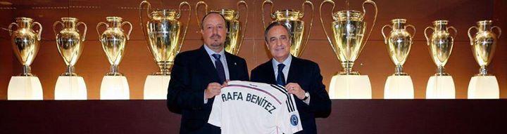 معلومات عن رفائيل رافا بينيتيز مدرب ريال مدريد